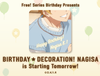Free! Series Birthday Presents BIRTHDAY ★..