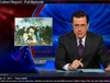 Colbert Report : police cutality