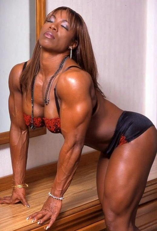 Sexy Black Female Bodybuilders 48